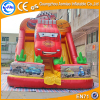 New design largest inflatable car slides,inflatable double lane slip slide for sale