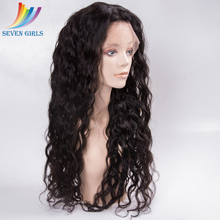 Fashion Natural Color Remy Cheap Human Virgin European Hair Wet And Wavy Wig