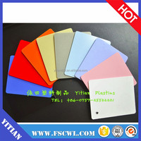 Factory wholesale good quality low price Color PC plastic Sheet for vacuum forming