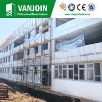 Prefabricated House Precast Concrete Sound Proof Partition Walls