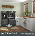 2017 Laundry Cabinets with Mat Gloss White Lacquer (VT-L010)