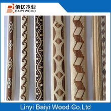 folk art decorative white wood moulding manufacturer from china