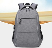 Wholesale sosoon business computer laptop USB charging port backpack fits most 17 '' laptop