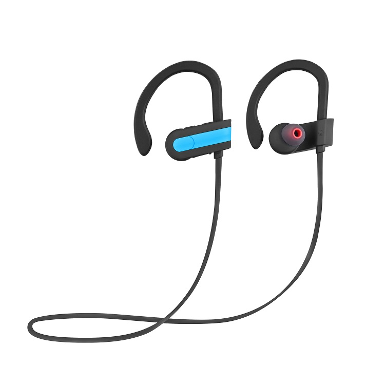 Phone accessory headphones wireless earphone bluetooth ear hook sport headset