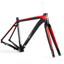 china road alloy frame 700C Carbon T800 Fork road bicycle frame BB68