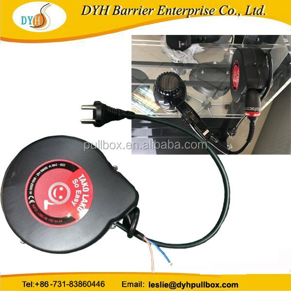 for hair dryer retractable cable reel