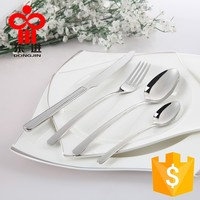 Hotel Stainless Steel Knife Fork Spoon Tableware Flatware Cutlery