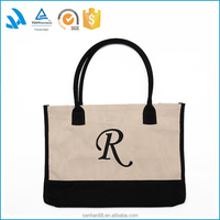 Hot Sale Best Design Fashion Canvas Tote Shopping Bag Wholesale