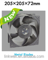 Explosion-proof steel blade axial fan AC DC 205mm