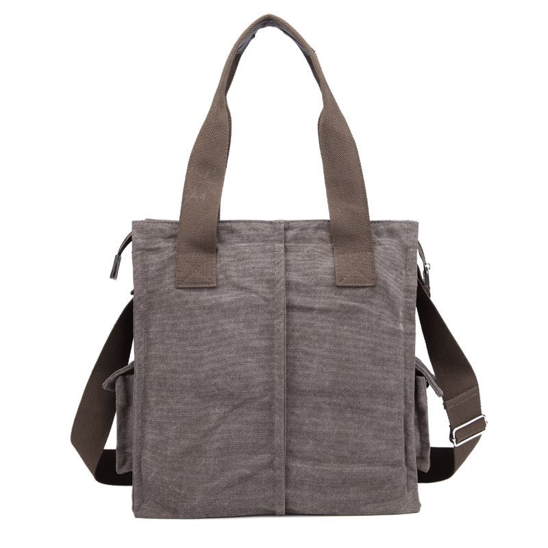 Guangzhou bag factory Korean design canvas bag for men