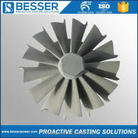 Besser Power Auto Spare Parts Vacuum Casting Turbocharger Spare Parts Casting Turbo Kit Turbo Charger Impeller Casting