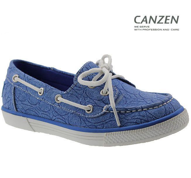 flat loafer girls canvas shoes for kids