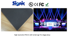 HD video wall P3 indoor rental led display DJ stage background- Signic factory
