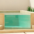PG Underwater Acrylic Window Panels for Swimming Pool