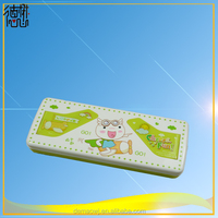 directly sale cute lovely plastic pvc creative multifunctional stationery pencil box case h259 with cheap price high quality