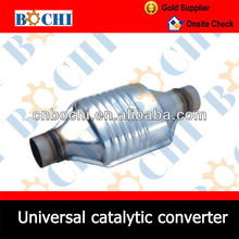 Hot sell Oval car engine exhaust manifold diesel catalytic converter