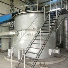 Biomass downdraft fixedbed gasifier for burn boilers, kilns . rice husk gasification power plant electric plant