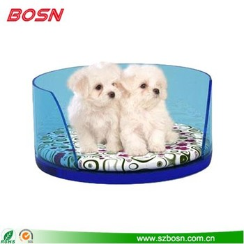 Hot acrylic Dog Sofa Pet Bed with Removable Washable Pet Mat
