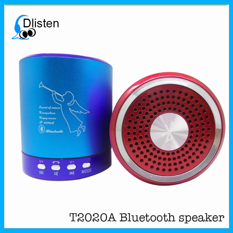 Best selling T2020a portable laptop bluetooth speaker with fm radio