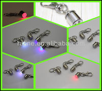 Pet Dog Flasher Blinker LED Light tags Red/Blue/White Safety Collar pet id tag for dogs P15