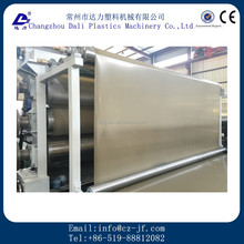 Plastic waterproofing roofing geomembrane sheet making extruder machinery