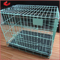 Plastic pet dog house ; stainless steel cheap chain link xxl dog kennel pet dog cage