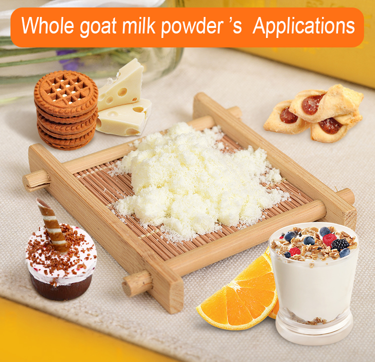 25kg instant full cream goat milk powder and whey goat milk powder Europe quality