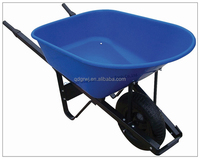 Large Heavy Duty farm tool and equipments 100L Plastic Wheelbarrow