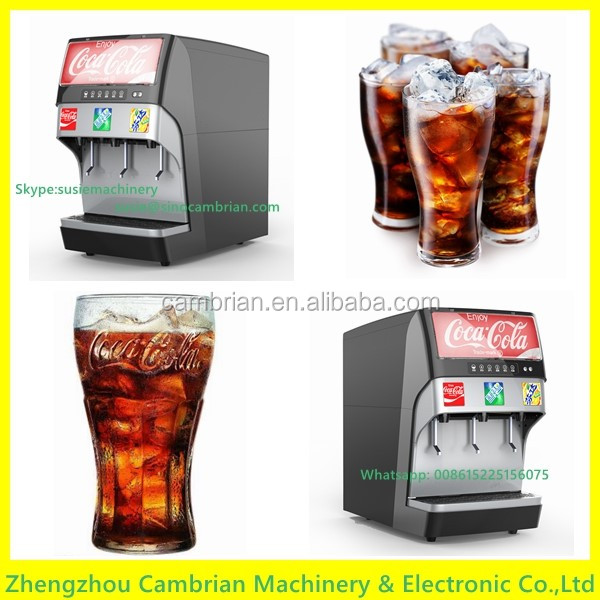 Table type fountain ice soda dispenser with low price