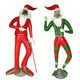 Outdoor Christmas Santa Figures