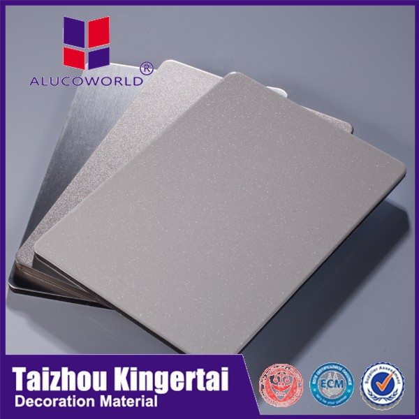 ALUCOWORLD waterproof exterior wall panels plastic building material outdoor exterior cladding materials