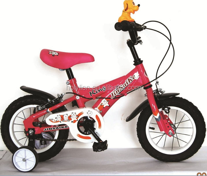 "12"" Pink Girl toy bike HL-K043"