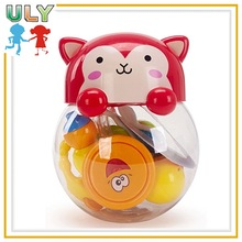 Baby Rattle Set Toy Infant Learning Toy Infant Rattle Toy In Fox Bottle
