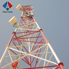 steel tube tower Communication Tubular Tower Mobile Tower