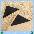 Disposable self-adhesive pu gel anti slip rug pad to grip carpet corners