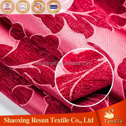 chenille jacquard sofa fabric dyeing velvet fabric for sofa upholstery fabric