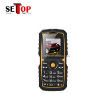 Cheap 1.77 inch GSM CDMA 2000mAh Big Battery Rugged Phone TF FM Power Bank Mobile Phone