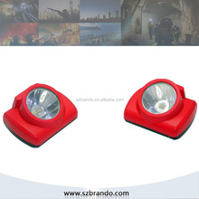 LED Head Cap Lamp for underground miners working