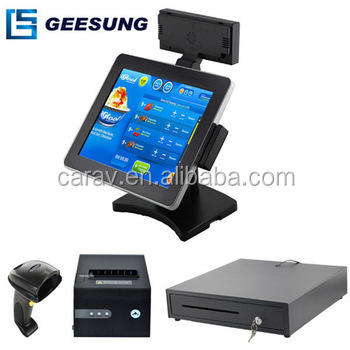 Pos with VFD Display,Pos Cash Register Set,Handheld Restaurant Pos Machine