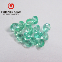 5mm Round Small Size Light Green Color Natural Apatite Rough Gemstone For Jewelry Making