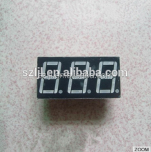 "High quality red 0.25"" 3 Digits 7 segment mini digital led display"