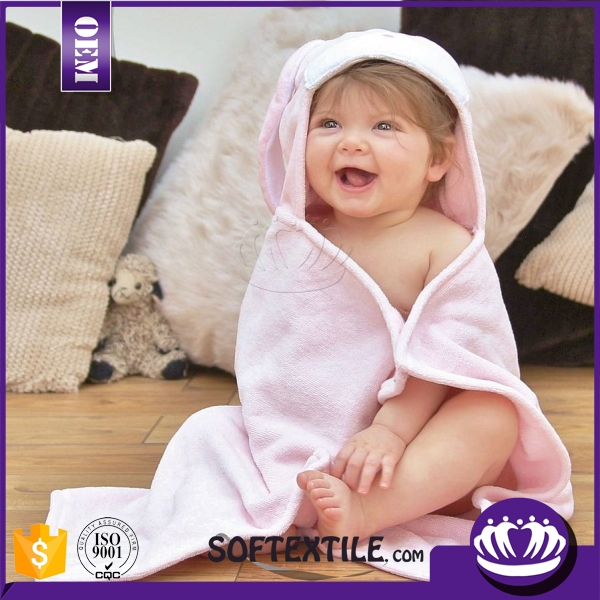 China supplier cheap hot sale baby hooded bath towels for kids
