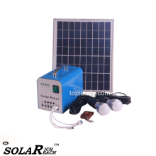 SINOTEK solar power emergency light 10W 12V mini home solar power system for home