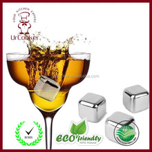 Waterproof led ice cube lighting ice cube wholesale bpa free stainless steel ice cubes