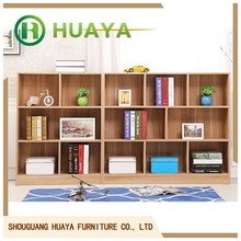 luxury living shallow bookcase