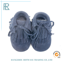 Factory Sale Various Widely Used Multiple Color Options Suede Baby Shoes