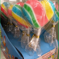 rainbow lollipop new model of the candy new products