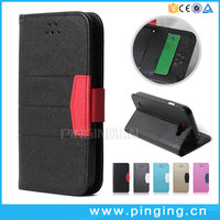 Beach Texture Magnet Wallet Card Slot Leather Flip Phone Case For LG K3