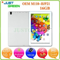 New 10.1 inch MT8382 quad cores tablet pc Android 4.4 WIFI GPS call function 16GB tablet pc