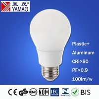 Yamao CE RoHs EMC LVD Approval 2 Years Warranty 220V 60Hz Indoor Lighting 500lm 5W A60 China LED Bulb